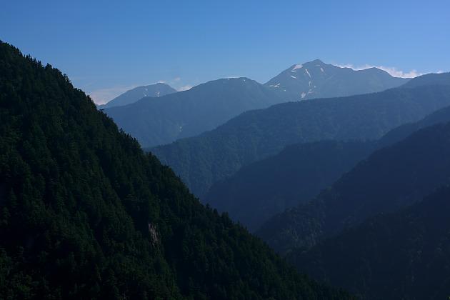 黒部平から後立山連峰