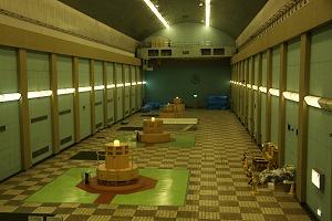 発電所内部